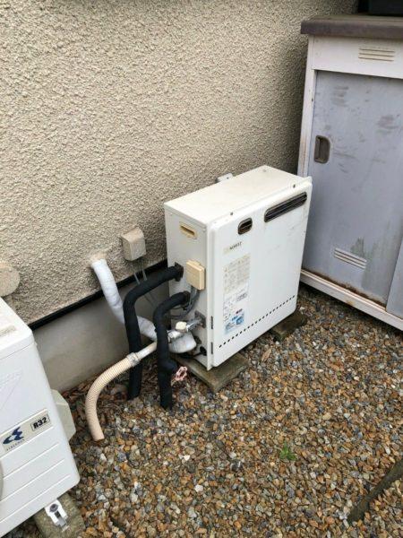 千葉市 ガス給湯器交換工事¥140,000円 『GT-2427SARX』⇒『GT-C2462SARX』