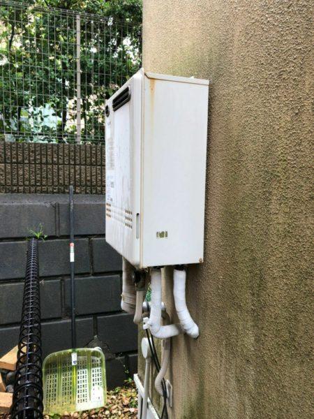 藤沢市 ガス給湯器交換工事¥135,000円 『GT-2427SAWX』⇒『GT-C2462SAWX』