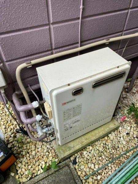 横須賀市 ノーリツ ガス給湯器交換工事¥151,800(税込)『GT-2427SARX』⇒『GT-C2462SARX』|株式会社ミズテック