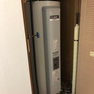 東京都狛江市で電気温水器交換工事 三菱『SR-4634-BL』→三菱『SRG-375E』