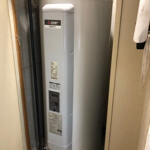東京都品川区で電気温水器交換工事 ナショナル『DH-4663』⇒三菱『SRG-375E』