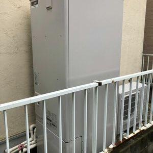 杉並区 エコキュート交換工事込み¥320.000円 三菱『EQ37EFTV』⇒ 三菱『SRT-W374』