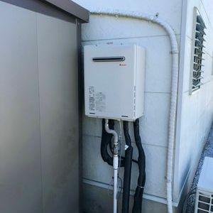 鎌倉市 リンナイ ガス給湯器交換工事¥120,000円『GT-2428SAWX』⇒『RUF-A2405SAW(B)』