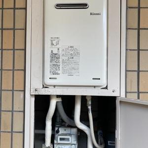 品川区 リンナイガス給湯器交換工事¥74,800(税込)東京ガス 『KG-A516RFW』⇒『RUX-A1615W-E』|株式会社ミズテック